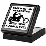 Save A Biker Keepsake Box