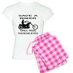 Save A Biker Women's Light Pajamas