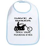 Save A Biker Bib