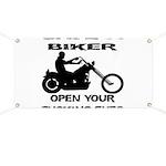 Save A Biker Banner