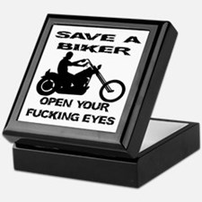 Save A Biker Keepsake Box
