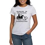 Save A Biker Women's T-Shirt