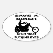 Save A Biker Decal