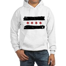 Flag of Chicago Made Hoodie