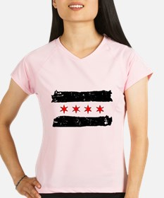 Flag of Chicago Made Performance Dry T-Shirt