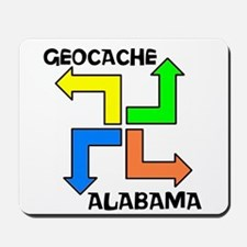 Geocache Alabama Mousepad