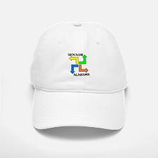 Geocache Alabama Baseball Baseball Cap
