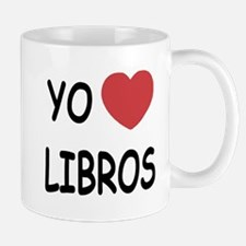 yo amo libros Mug