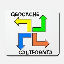 Geocache California Mousepad
