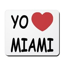 yo amo Miami Mousepad