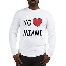 yo amo Miami Long Sleeve T-Shirt