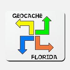 Geocache Florida Mousepad