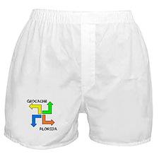 Geocache Florida Boxer Shorts