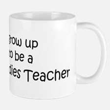 Grow Up Religious Studies Tea Mug