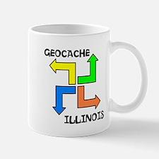 Geocache Illinois Mug
