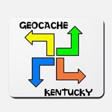 Geocache Kentucky Mousepad