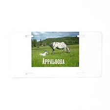 Beautiful Appaloosa Aluminum License Plate