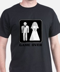 game_over_white T-Shirt