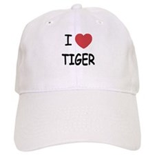 I heart tiger Baseball Cap