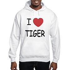 I heart tiger Hoodie