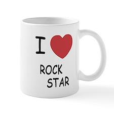 I heart rock star Mug
