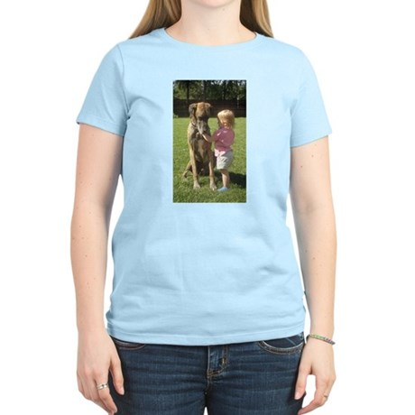 Jamie and Girl Women's Light T-Shirt