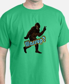 Bigfoot Yeti Sasquatch Wassup T-Shirt