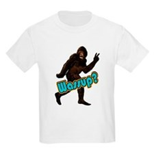 Bigfoot Yeti Sasquatch Wassup T-Shirt