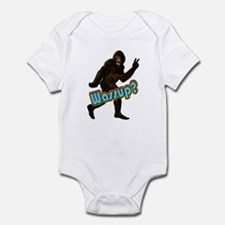Bigfoot Yeti Sasquatch Wassup Infant Bodysuit