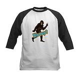 Bigfoot boys Baseball T-Shirt
