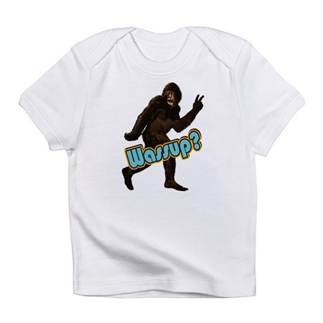 Bigfoot Yeti Sasquatch Wassup Infant T-Shirt
