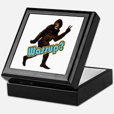 Bigfoot Yeti Sasquatch Wassup Keepsake Box