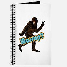 Bigfoot Yeti Sasquatch Wassup Journal