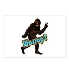Bigfoot Yeti Sasquatch Wassup Postcards (Package o