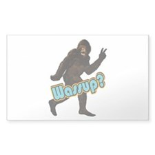Bigfoot Yeti Sasquatch Wassup Decal