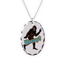 Bigfoot Yeti Sasquatch Wassup Necklace