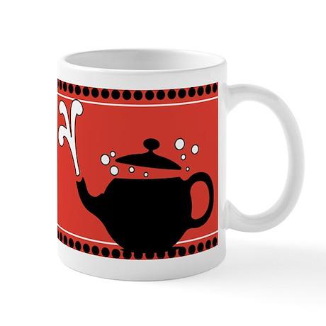 Red Hot Teapots Mug