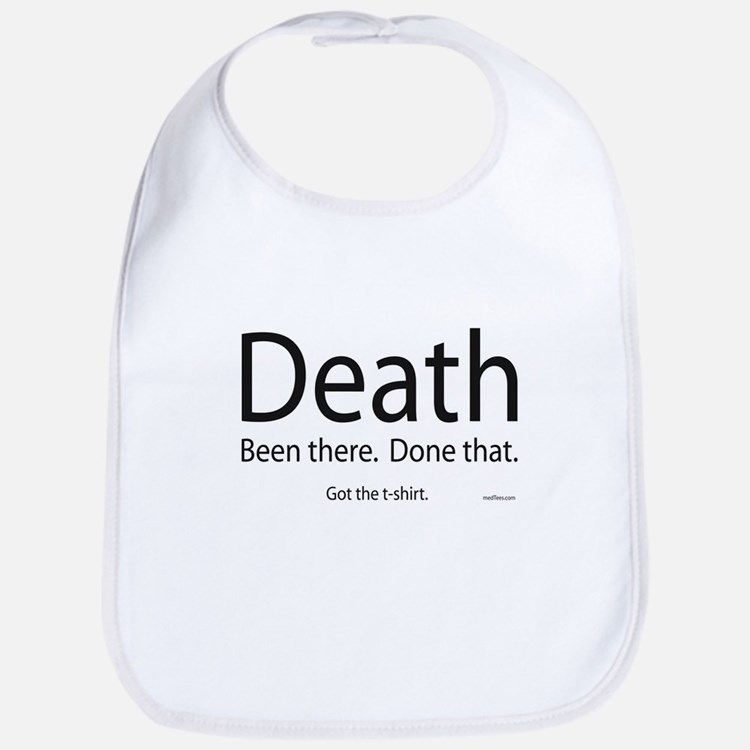 Death - Been There, Done That Bib