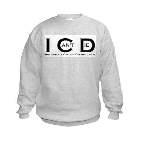 I Can't Die Kids Sweatshirt