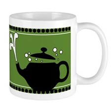 Green Hot Teapots Mug