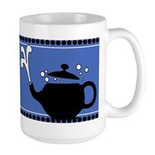 Blue Hot Teapots Mug