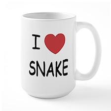 I heart snake Mug