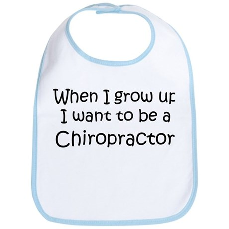 Grow Up Chiropractor Bib