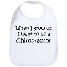 Grow Up Chiropractor Bib