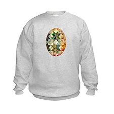 Fun Patchwork Quilt Sweatshirt