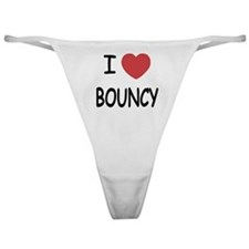 I heart bouncy Classic Thong