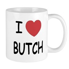 I heart butch Mug