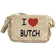 I heart butch Messenger Bag