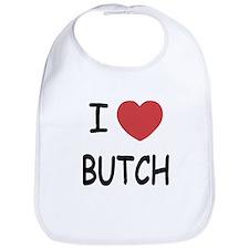 I heart butch Bib