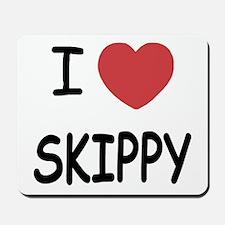 I heart skippy Mousepad